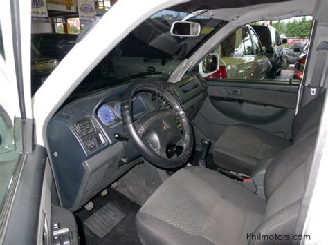 adventure mitsubishi interior used mitsubishi adventure glx 2011 adventure glx for