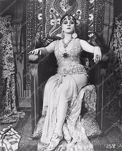 Theda Bara in the original silent Cleopatra full length ...