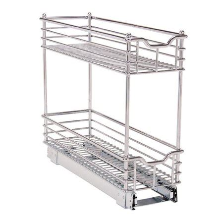 pull out walmart household essentials glidez narrow 7 pull out drawer