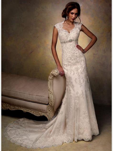 Vintage Lace Sheath Wedding Dress Naf Dresses