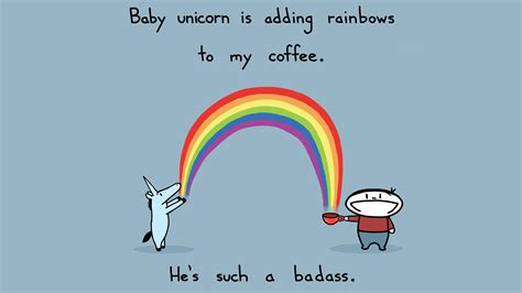 funny unicorn wallpaper full hd    pc