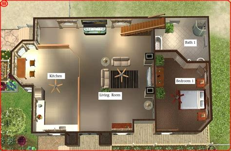 house layout plans floor plant sims 3 house blueprints all about house