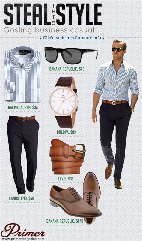 steal  style gosling business casual primer