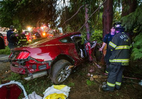 Seattle Crash Sends Woman To Hospital With Serious
