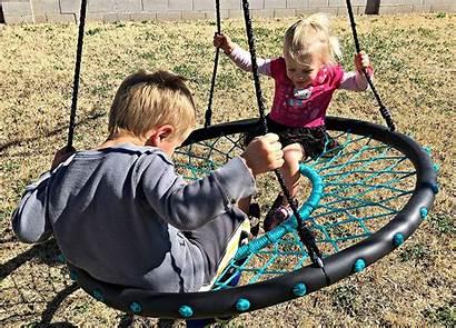 Swing Tire Nest Swings Tarzan Swinging Playing