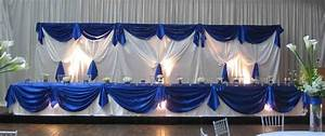Lights outdoor wedding head table ideas always about the for Backdrop decoration for wedding