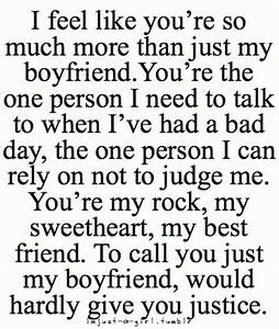 49 Cute Boyfriend Quotes for Him | My everything, My ...