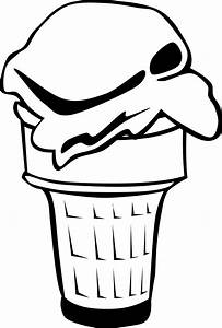 Ice Cream Sundae Clipart Black And White - ClipArt Best