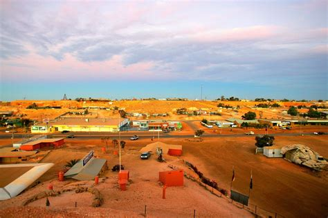 large picture windows half of the inhabitants of this australian opal capital