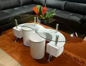 Unique, Design, Coffee, Table, B