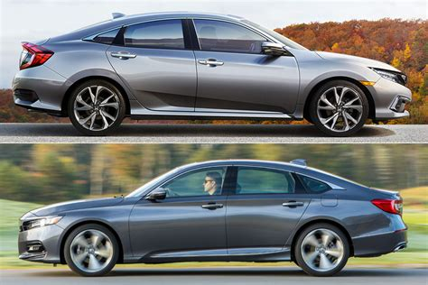 2019 Honda Civic Vs. 2019 Honda Accord