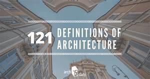 121 Definitions... Architecture Definition