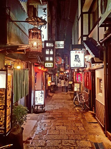 alleyway   shinsaibashi district osaka
