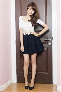 White Zara Tops Mphosis Skirts Aldo Shoes From Singapore Belts | u0026quot;122509u0026quot; by slumberdoll ...