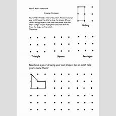Draw 2d Shapes By Mathskingdom  Teaching Resources Tes
