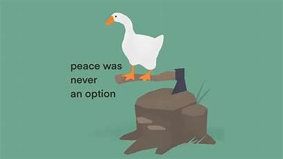 Peace Option Never Memes Goose Untitled Meme