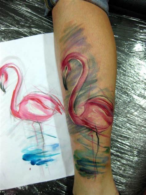 flamingo tattoo images designs