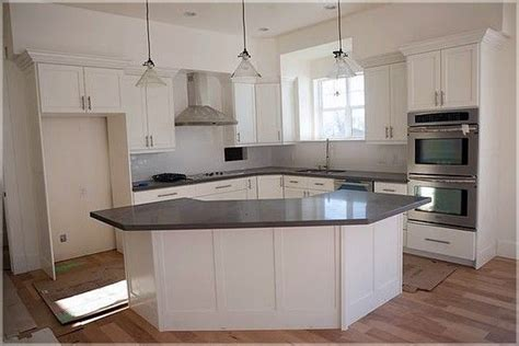 shaped kitchen  island pics kitchen island ideas