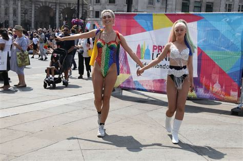 Wallis Day And Alice Chater At Pride London Festival In