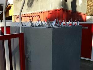 Sichtschutz Befestigung Auf Mauer : wall spikes mauerspitzen wandspitzen berlin einfacher ~ Watch28wear.com Haus und Dekorationen