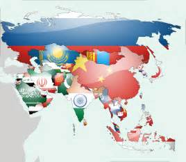 Asia Flag Map by lg-studio on DeviantArt