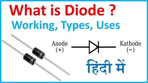 Diagram Of A Diode by What Is Diode In Diode Working Types And Uses