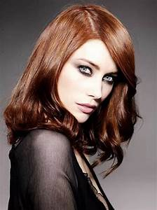 New Hairstyle 2014 Medium Copper Brown Hair Color Photos