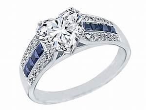 engagement ring heart shape diamond vintage horseshoe With horseshoe shaped wedding rings