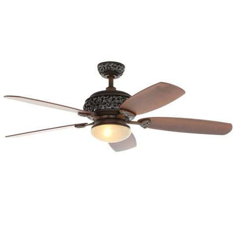 Hampton Bay 52 In Caffe Patina Ceiling Fan34112 The