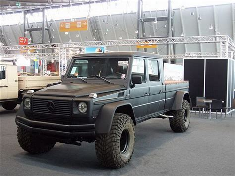 Jaw Dropper Mercedes Gwagon Pickup Is Ready To Destroy