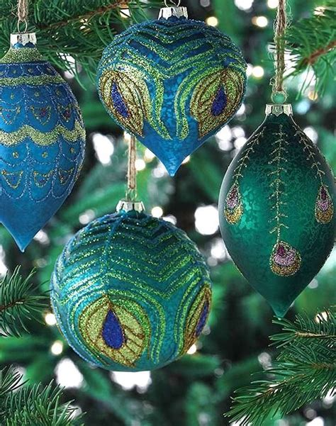 25 best ideas about peacock christmas tree on pinterest