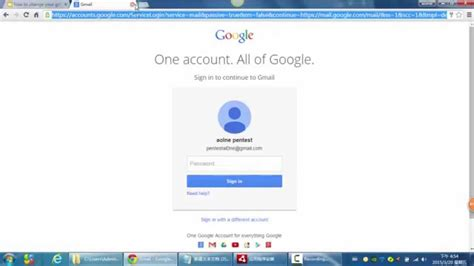 How To Change Your Gmail Username