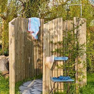 Saunahaus Selber Bauen : diy anleitung gartendusche selber bauen garden pinterest ~ Orissabook.com Haus und Dekorationen