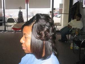 Roller Wrap Hairstyles For Black Hair