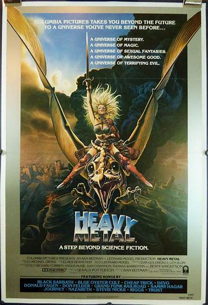 Metal Heavy Poster Tri Fold Posters 1981