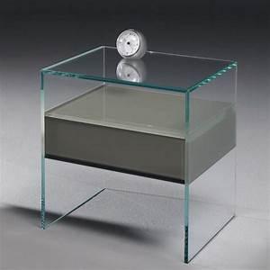 Nachttisch Glas Mit Schublade : pure glas nachttisch von dreieck design ~ Bigdaddyawards.com Haus und Dekorationen