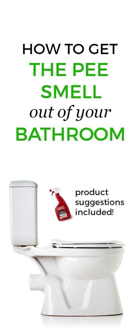 ways   rid  pee smell toilets  ojays  tips