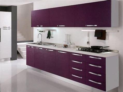 deco cuisine violet nouvelle décoration cuisine violet