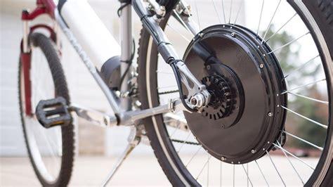 Installing An Electric Bike (ebike) Conversion Kit
