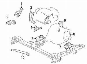 Pontiac Trans Sport Bracket  Strut  Engine   Front   3 4
