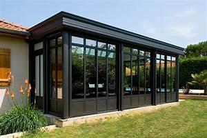 veranda haut de gamme md concept extensions With marvelous extension maison en l 6 une nouvelle cuisine villa veranda