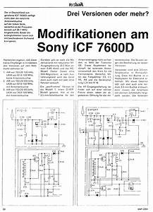 The Sony 7600 Series Page  Modifications