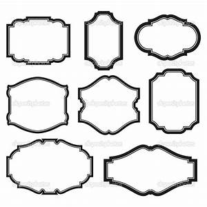 19 Simple Vector Frame Images - Simple Frame Vector, Free ...