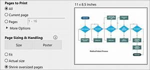 Print A Visio Online Diagram