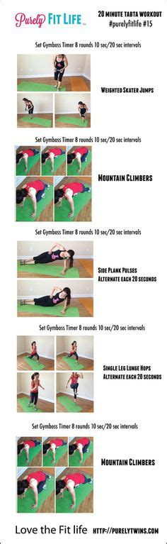 Best Tabata Workouts Images Exercise