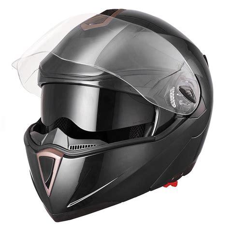 motorcycle helmet dot flip up motorcycle helmet dual visor bike