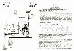 Stanley Steamer Wiring Diagrams