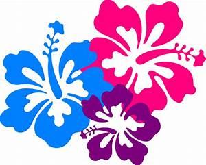 Hawaiian flowers clip art free clipart images - Clipartix