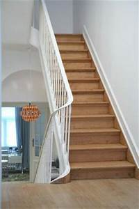 Refaire Un Escalier En Bois : 1000 images about cage escalier on pinterest stairs entrees and painted stairs ~ Melissatoandfro.com Idées de Décoration
