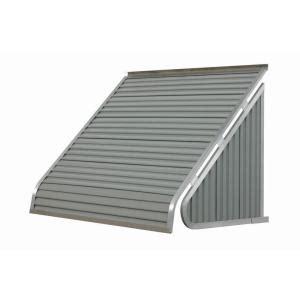nuimage awnings  ft  series aluminum window awning         greystone